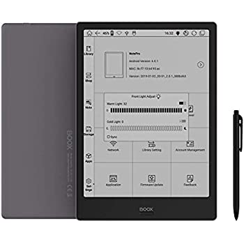 BOOX Note Pro 10.3, 電子書籍リーダー,フロントライト,ワコムスタイラス,Android 6.0