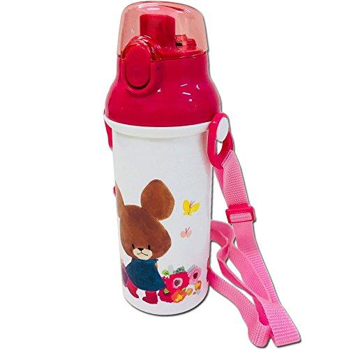 【くまのがっこう】 食洗機対応ワンタッチボトル(ピンク)[8...