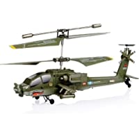 SYMA @3 Channels S109G Mini Infrared Apache Shark ヘリコプター AH-64 Remote Control Rc ヘリコプター With Gyro , 3Ch Heli toys おもちゃ (並行輸入)