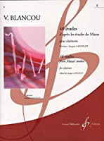 ブランクー: 40の旋律的で発展的な練習曲 第2巻/ランスロ/ビヨドウ社/クラリネット教本・練習曲