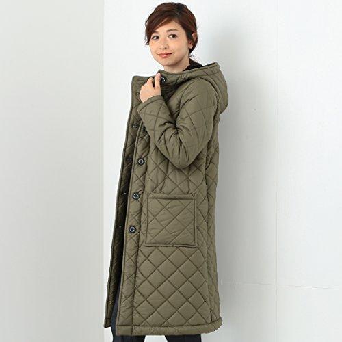 (デミルクスビームス) Demi-Luxe BEAMS Traditional Weatherwear (トラディショナル ウェザー ウェア ) / GRANGE ボア ロングコート 64190485118 32 トープ×ブラック