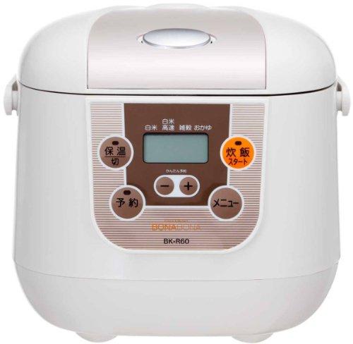 CCP 【BONABONA】 マイコン炊飯ジャー(3.5合) 炊飯器 BK-R60-WH ホワイト