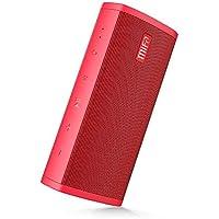MIFA A10 Bluetoothスピーカー 【ポータブル/TWS機能対応/デュアルドライバー/大音量/ハンズフリー通話/Micro SDカード機能つき】(赤)