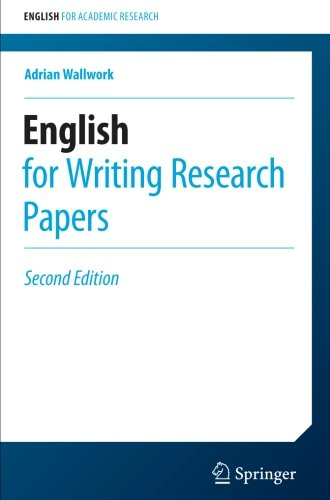 english for writing research papers springer Here we provide a selection of academic journal templates for articles and  papers which automatically format your manuscripts in the style required for.
