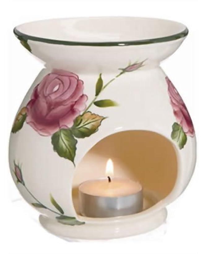 宝石性的平和的Canterbury Rose ローズアロマポット (ティーライトキャンド1個付)
