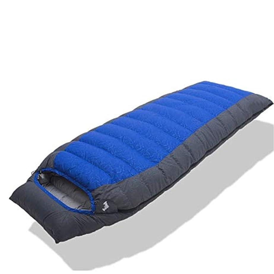 固有の緊急自動化Durable,breathable,comfortable寝袋、ポータブル軽量封筒睡眠袋防水通気性大人睡眠袋用キャンプ、ハイキング旅行屋外,Blue,1000G
