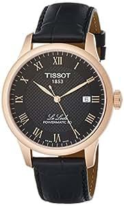 [ティソ] 腕時計 ル・ロックル パワーマティック80 T0064073605300 メンズ 正規輸入品 ブラック