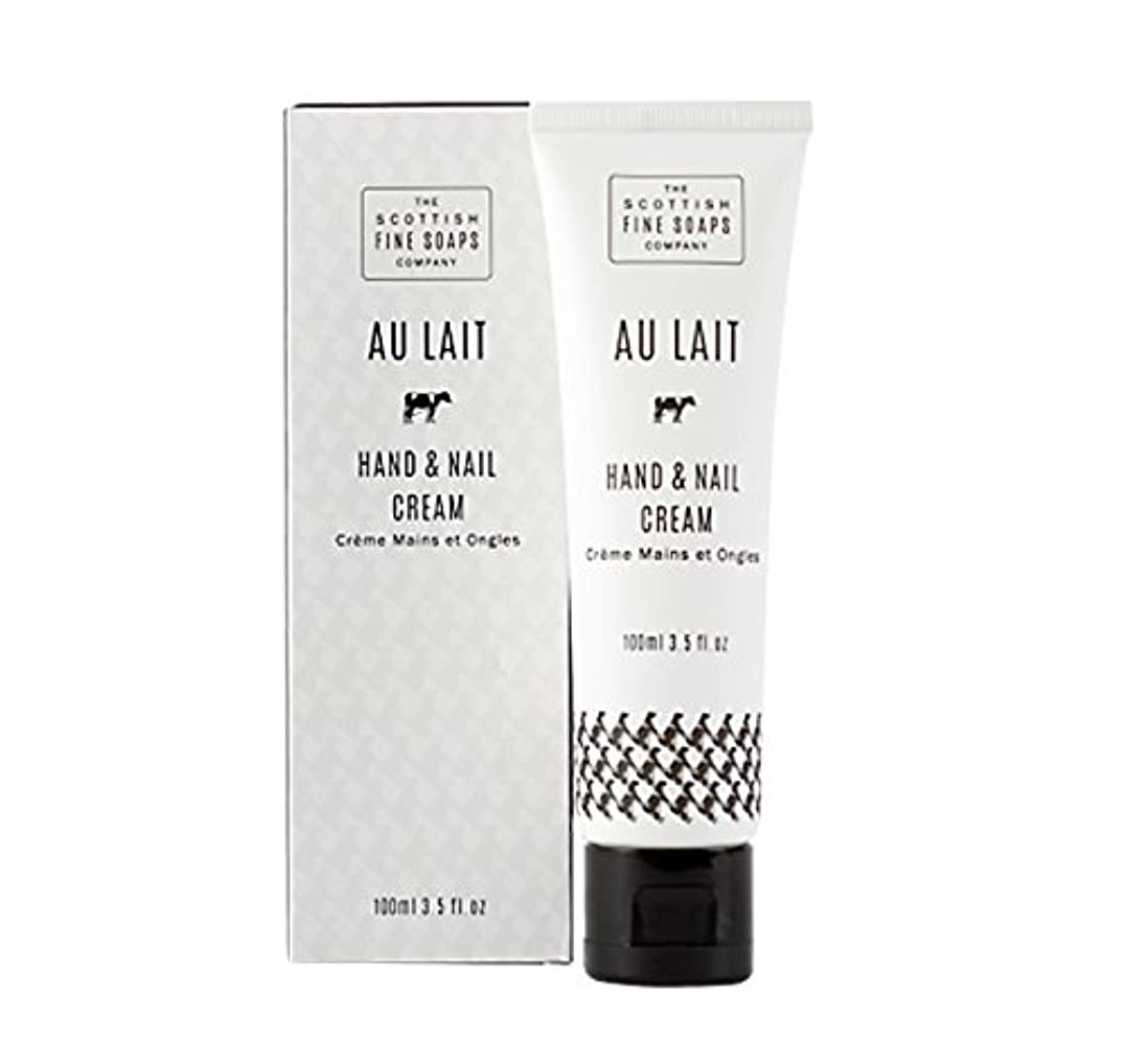 外出ポテト勇気SCOTTISH FINE SOAPS(スコティッシュファインソープ) ハンド&ネイルクリーム100ml Au Lait