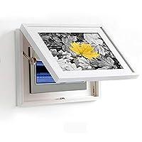 アートパネル 壁飾り 壁掛けキャンバス モデル現代のミニマリストホワイトメーターボックス装飾的なパーソナライズラグジュアリーポーチ光パターンの葉を絵画リビングルーム壁画レストランヴィラ Yingkou (Size : 45cm*35cm)