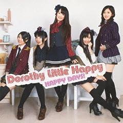 Dorothy Little Happy「never stop again!!」のジャケット画像