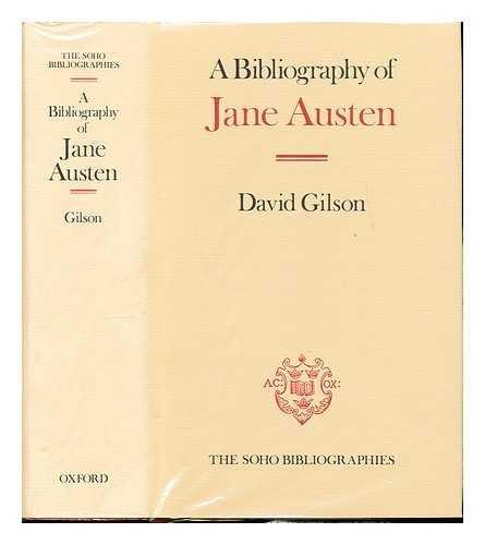 Bibliography of Jane Austen (Soho Bibliographies)