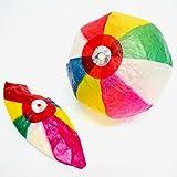 紙風船(紙フーセン?紙ふうせん) 約20cm 10枚