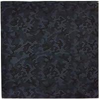 むす美 風呂敷 アクアドロップ 撥水加工 カモフラ 迷彩 ブラック 100cm