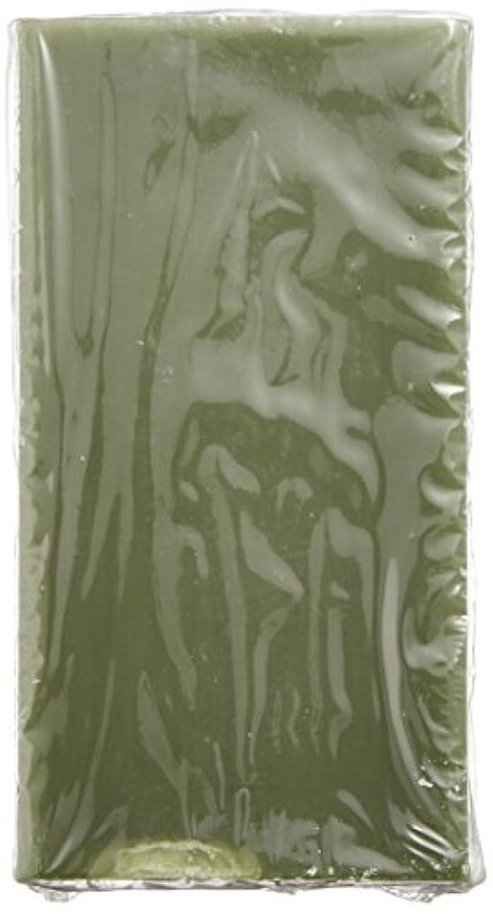 繰り返したお風呂メダル緑茶のボディクレンジングバー
