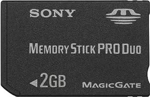 SONY メモリースティックPRO Duo 2GB MSX-M2GS