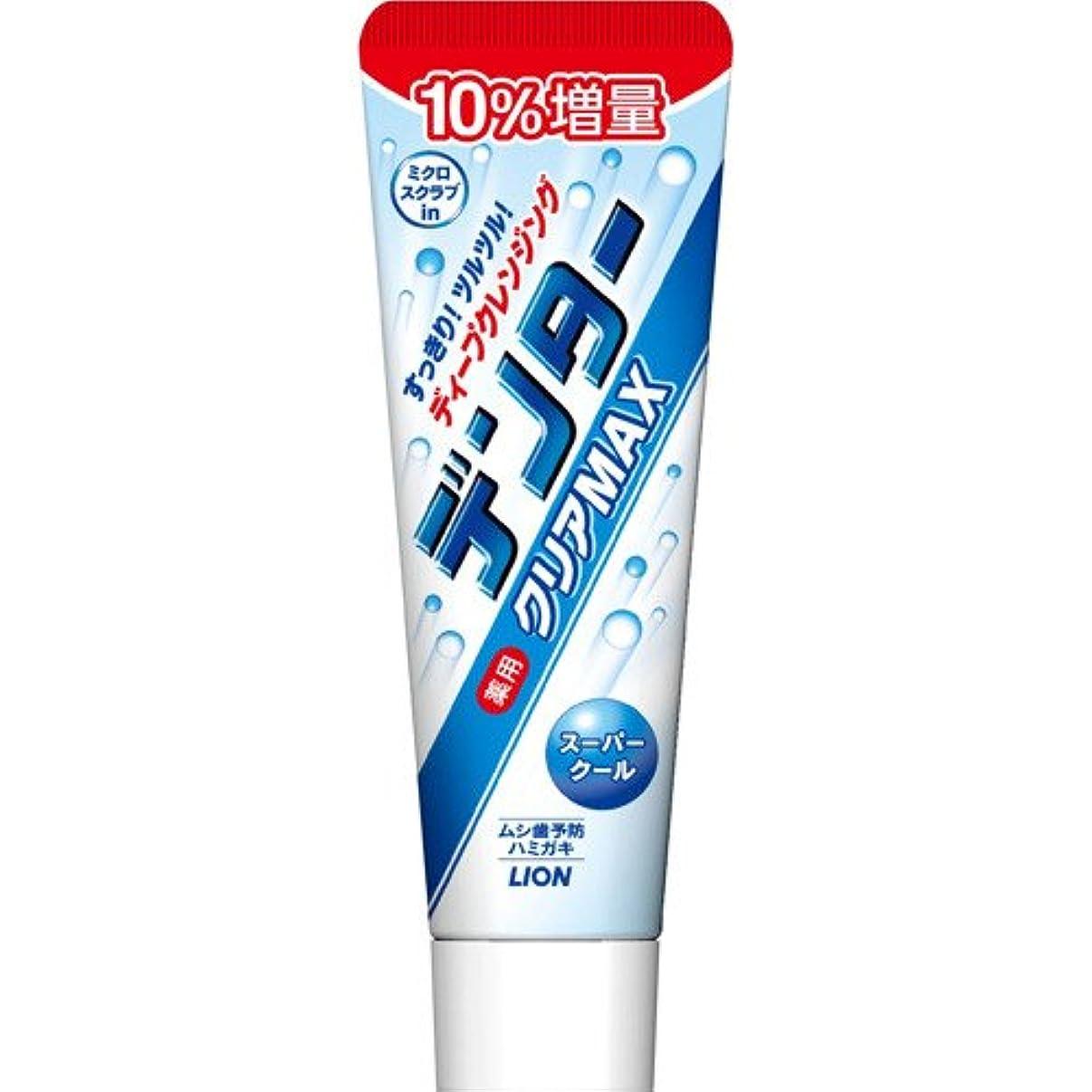 触覚感謝ポーターライオン デンター クリアMAX スーパークール タテ型 10%増量 154g