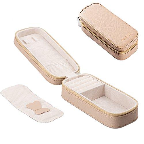 ドックフォー DOKEFUL ジュエリーケース 旅行携帯用 ピアス ネックレス リング ボックス 指輪入れ Mサイズ