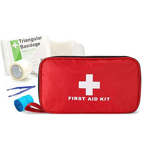 さかなのらく 救急セット 救急箱 防災用品 緊急キット 応急処置バッグ 非常用 手当 大容量 180点 災害 家庭 学校 アウトドア 旅行