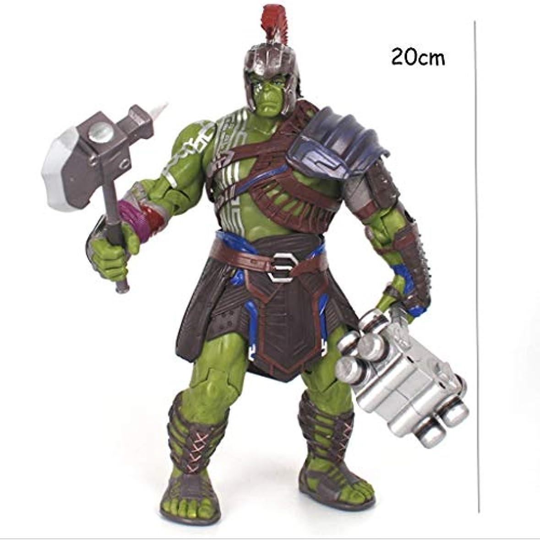 スコア束ねる正気映画モデル、PVC子供のおもちゃコレクションの彫像、デスクトップの装飾的なおもちゃの彫像のおもちゃのモデル、ハルクハルク(20cm) SHWSM