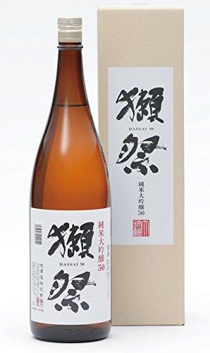 獺祭(だっさい) 純米大吟醸50 箱入り 1800ml