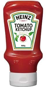 ハインツ (Heinz) トマトケチャップ逆さボトル 460g×4本