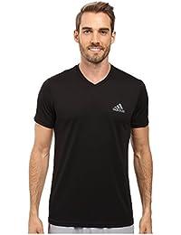 (アディダス) adidas メンズタンクトップ・Tシャツ Essential Tech V-Neck Tee