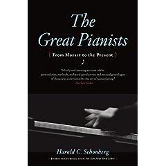 ショーンバーグ著『偉大なピアニスト達』洋書の商品写真