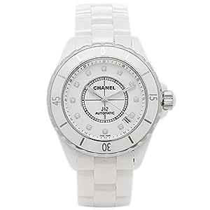 (シャネル) CHANEL シャネル 時計 CHANEL H1629 J12 ジェイトゥエルヴ 38mm 自動巻き 12P ダイヤ メンズ腕時計 ウォッチ ホワイト [並行輸入品]