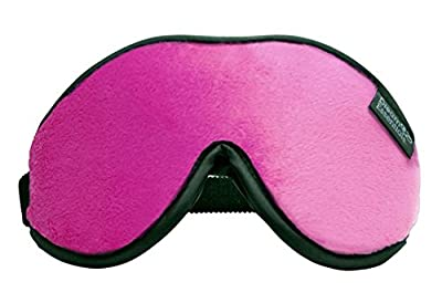 Dream Essentials Escape Luxury Travel and Sleep Mask with Earplugs and Carry Pouch
