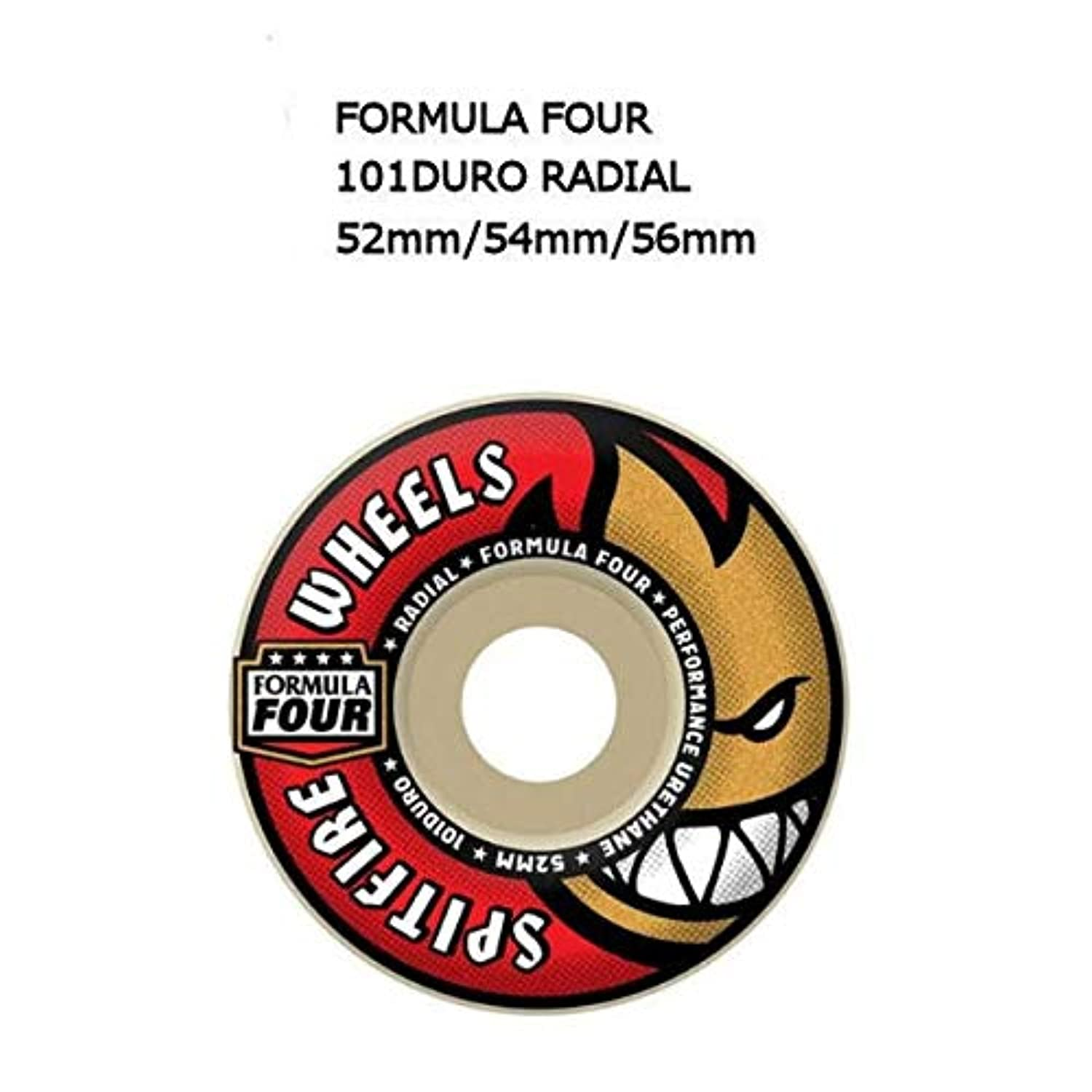 【SPIT FIRE】SPITFIRE WHEELS スピットファイア FORMULA FOUR 101DURO RADIAL ウィール スケートボード