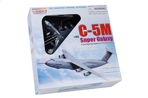 1:400 ドラゴンモデルズ 56274 ロックヒード C-5M Super ギャラクシー ダイキャスト モデル USAF 436th AW 418th FTS #86-0025 Edwards A【
