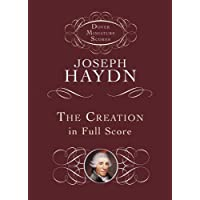 The Creation in Full Score (Dover Miniature Music Scores)