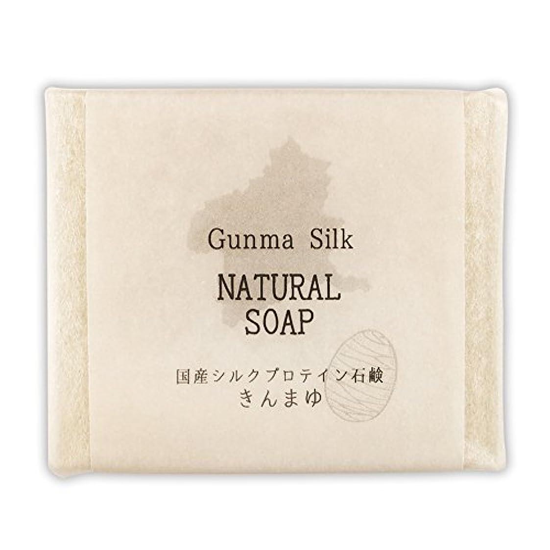 クッション奨励します想起BN 国産シルクプロテイン石鹸 きんまゆ SKS-04 (1個)