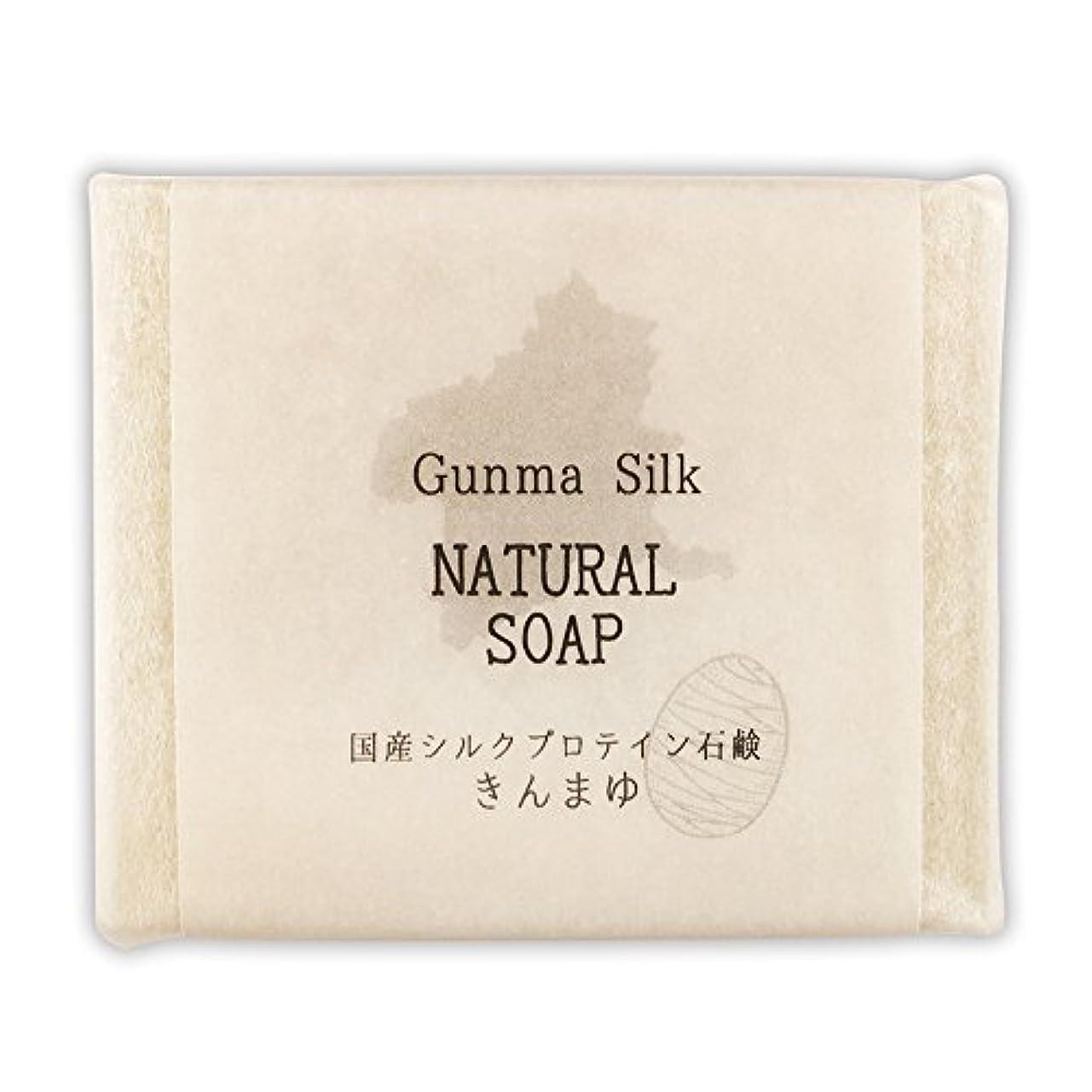 特異性空白どう?BN 国産シルクプロテイン石鹸 きんまゆ SKS-04 (1個)