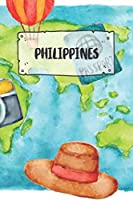 Philippines: Ruled Travel Diary Notebook or Journey  Journal - Lined Trip Pocketbook for Men and Women with Lines