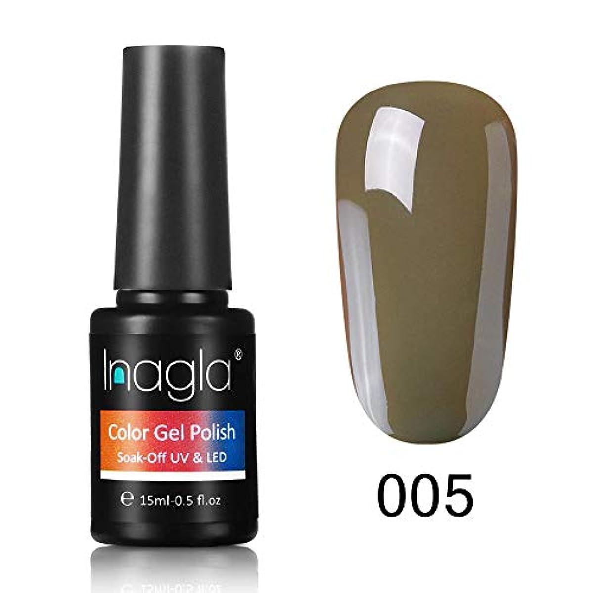 クレア安全たっぷりInagla ジェルネイル カラージェル 1色入り 15ml-GNS005