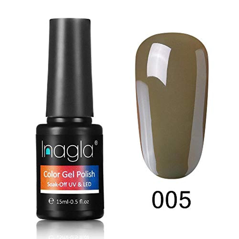 Inagla ジェルネイル カラージェル 1色入り 15ml-GNS005