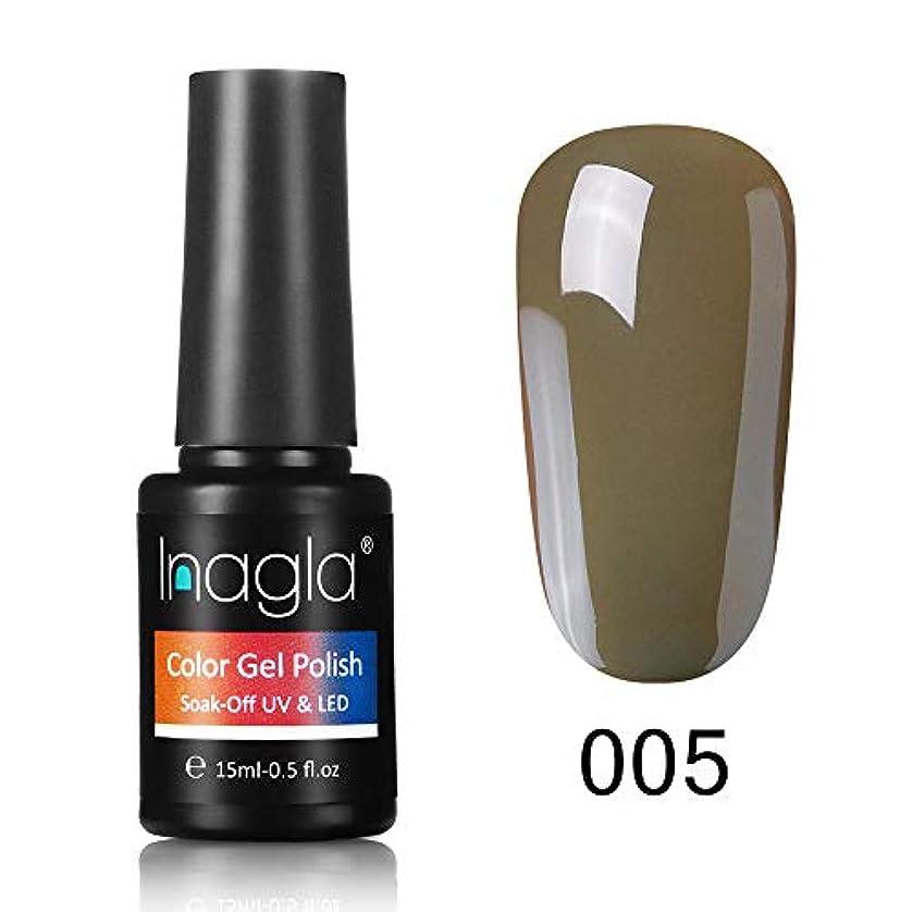 スポット利用可能書道Inagla ジェルネイル カラージェル 1色入り 15ml-GNS005