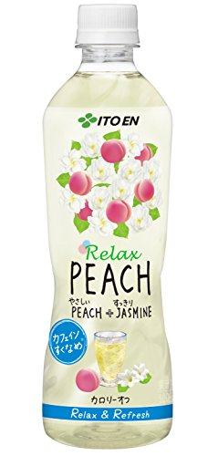 伊藤園 Relax PEACH(リラックスピーチ) 500ml×24本