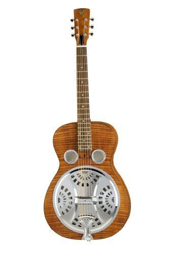 Epiphone Dobro Hound Dog Deluxe Round Neck Vintage Brown ハウンドドッグ リゾネイターギター (エピフォン)