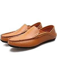 [サニー ホリデイ] メンズ ドライビングシューズ 軽量 スリッポンシューズ 2種履き方 クラシック 職場用 モカシン 靴