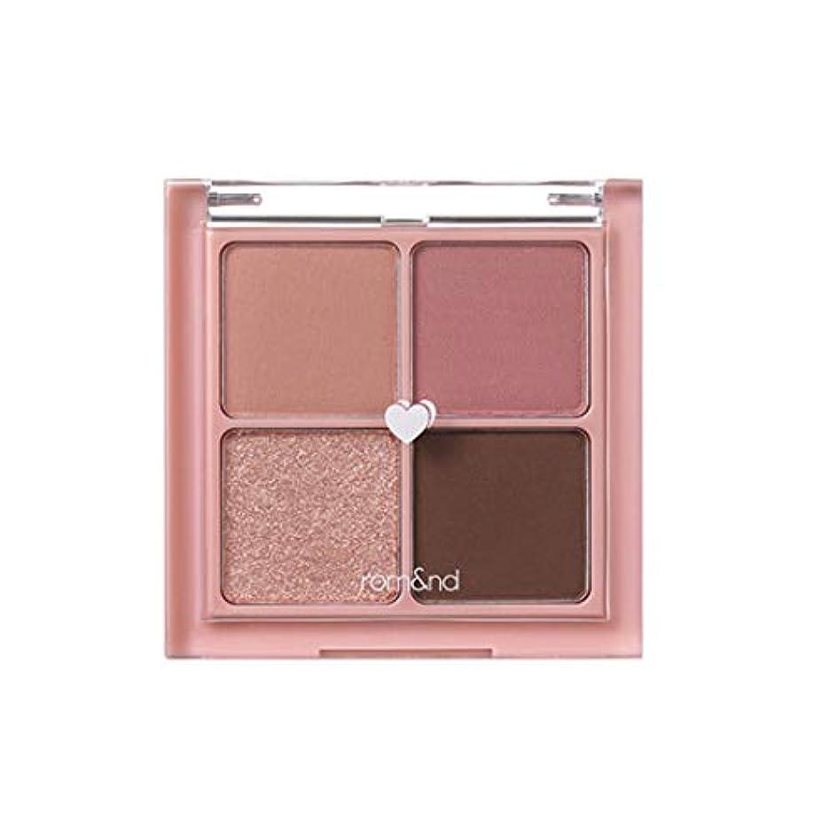 ノート火山学インシュレータrom&nd BETTER THAN EYES Eyeshadow Palette 4色のアイシャドウパレット # 2 DRY rose(並行輸入品)