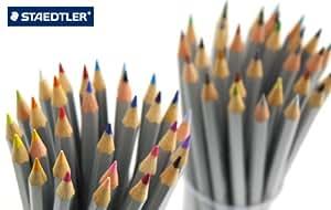 【STAEDTLER】ステッドラー カラト アクェレル 水彩色鉛筆 125 ばら売り302~56シアン