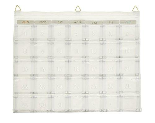 カレンダーポケット クリアー W-418