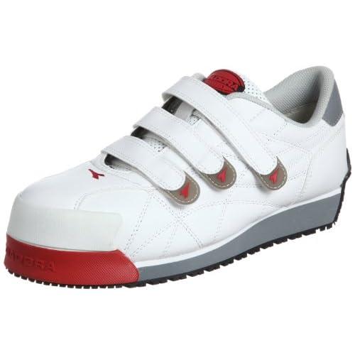 [ディアドラユーティリティ] DIADORA UTILITY 作業靴 スニーカー アイビス IB11 IB11 ホワイト(ホワイト/27.0)