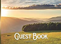 Guest Book: Vacation Home Guest Book | Visitors Book | Holiday Guests | Sunrise Adventure