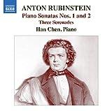 アントン・ルビンシテイン:ピアノ・ソナタ 第1番&第2番