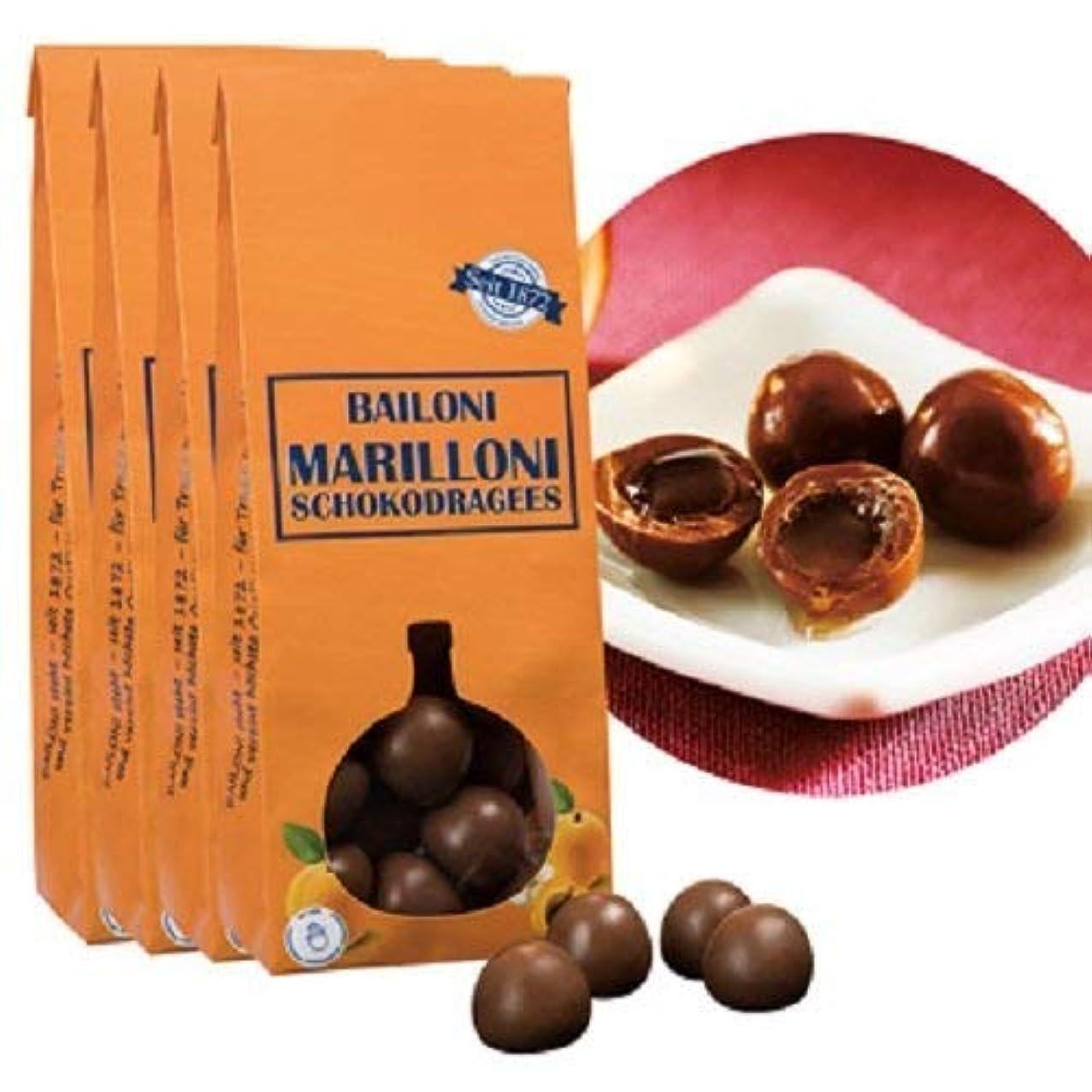 作物舌ピケバイローニ(Bailoni)アプリコット リキュール入り チョコレート ボンボン 4袋セット【オーストリア 海外土産 輸入食品 スイーツ】