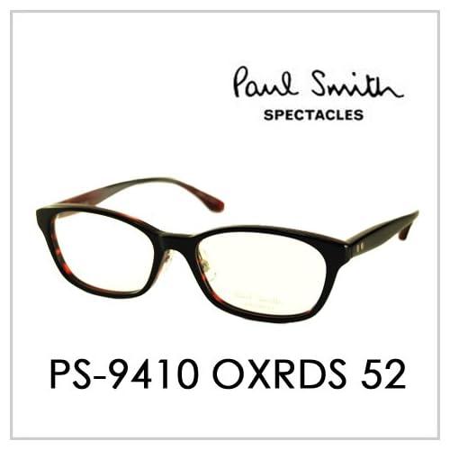 PAUL SMITH ポールスミス  メガネフレーム サングラス 伊達メガネ 眼鏡 PS-9410 OXRDS 52 PAUL SMITH専用ケース付 スペクタクルズ