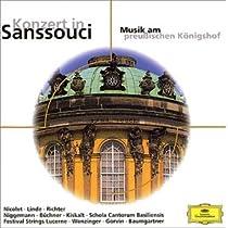 サンスーシ宮殿のフルート音楽